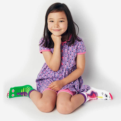 Pals Socks - Dragon & Unicorn - Kids collectible mismatched socks, Socks, Pals Socks, Baby goes Retro - Baby goes Retro