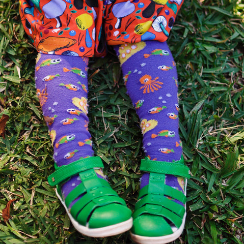 Slugs & Snails Organic Children's Tights - Sub