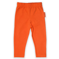 Toby Tiger Organic Basic Leggings - Orange, Leggings, Toby Tiger, Baby goes Retro - Baby goes Retro