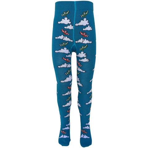 Slugs & Snails Tights - High Flyer Planes & Clouds, Tights, Slugs & Snails, Baby goes Retro - Baby goes Retro