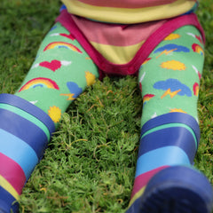 PRE-ORDER Slugs & Snails Organic Tights - Retro, Tights, Slugs & Snails, Baby goes Retro - Baby goes Retro