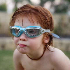 Bling2o Swimming Goggles - Jawsome - Baby blue tip shark, Swimming Goggles, Bling2o, Baby goes Retro - Baby goes Retro