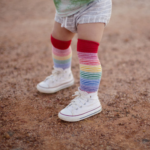 Pride Socks Casual Toddler & Kids Socks - Sugar High, socks, Pride Socks, Baby goes Retro - Baby goes Retro