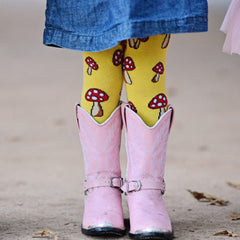 Slugs & Snails Tights - Toadstools, Tights, Slugs & Snails, Baby goes Retro - Baby goes Retro
