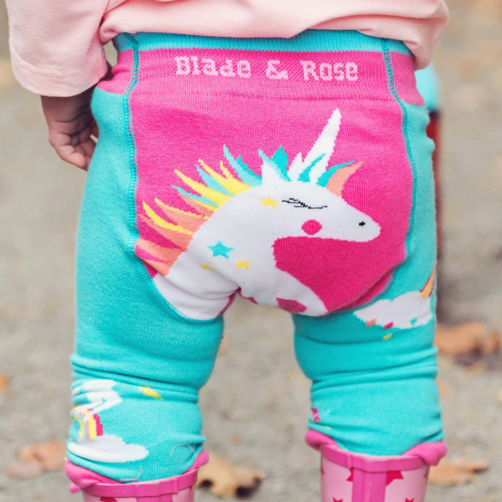 Blade & Rose Footless Tights - Sparkly Unicorn