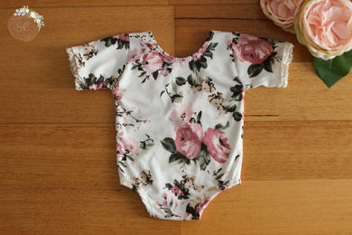Jada Newborn Romper With Sleeves