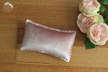 Dusty Mauve Velvet Newborn Pillow