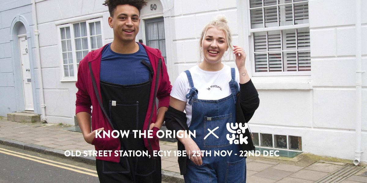 London Calling - Come & meet us at Know The Origin X Lucy & Yak pop up!