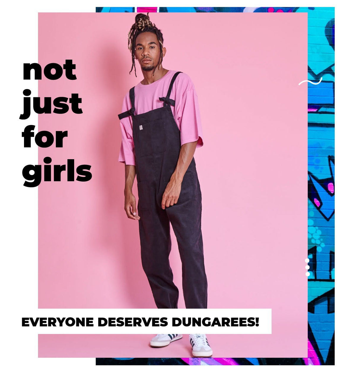 Everyone deserves dungarees!