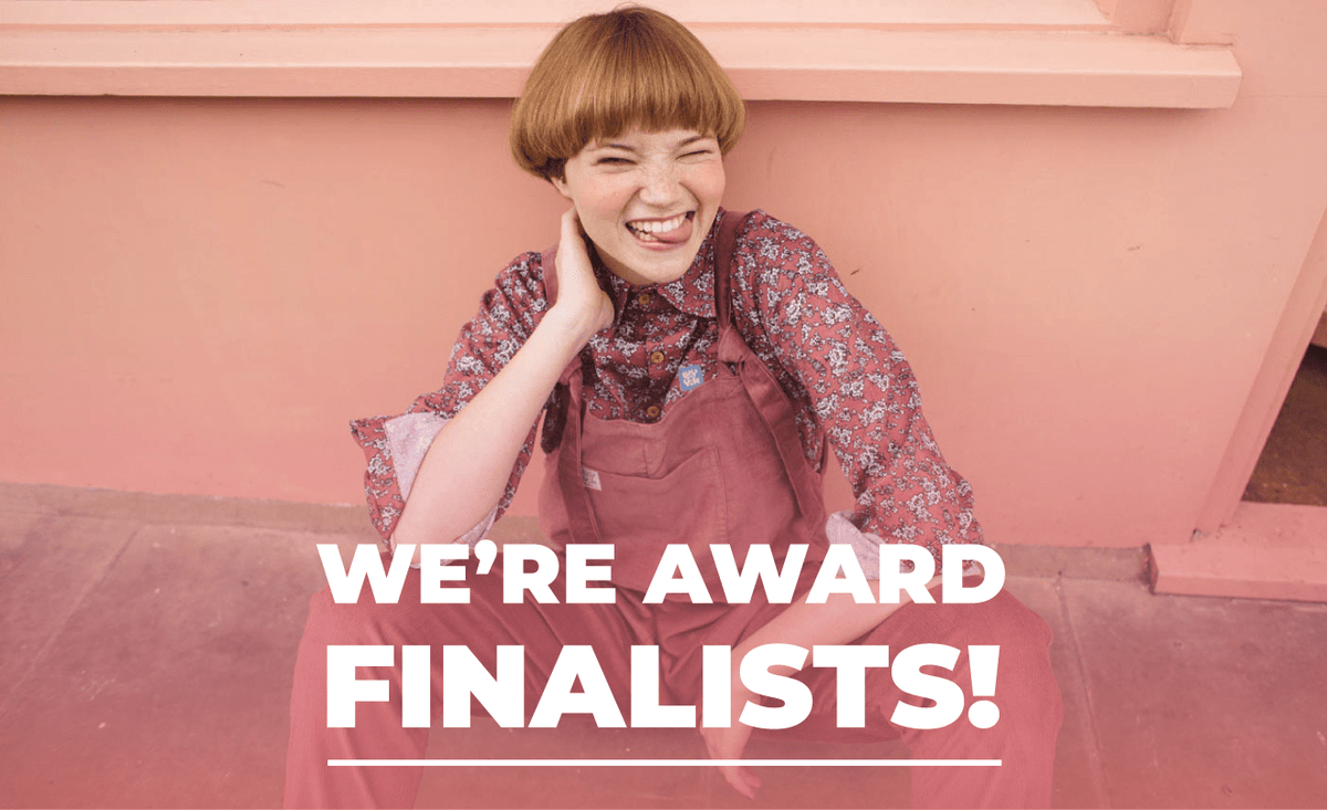 We're award finalists!