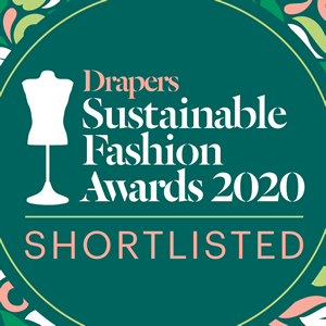 Sustainable Fashion Brand Award Shortlisted