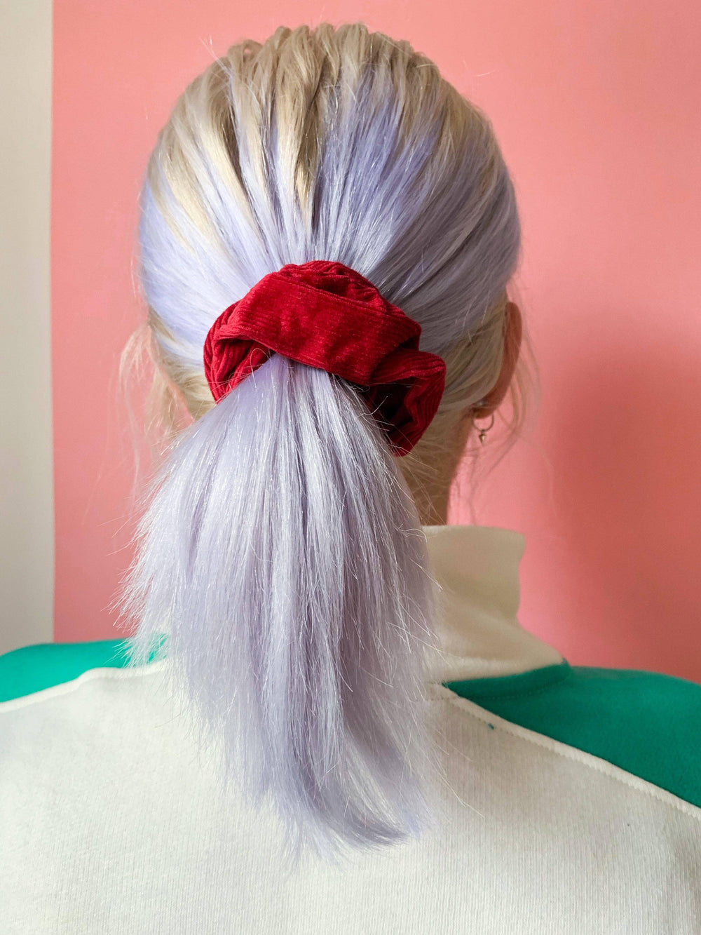 Lucy & Yak accessories Hair Scrunchies In Berry