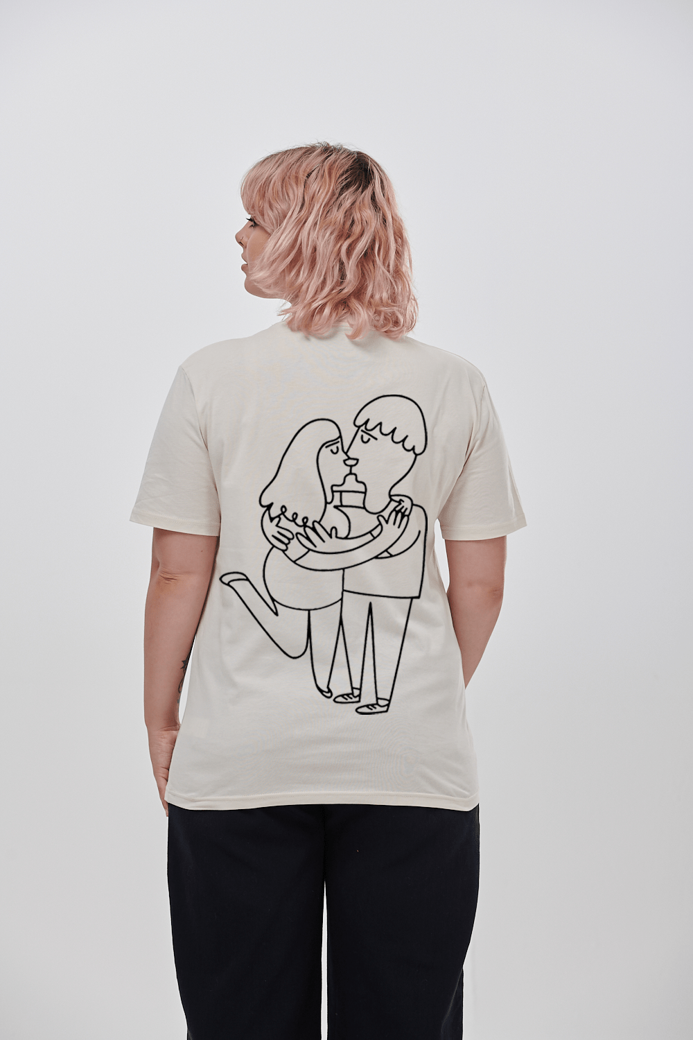Lucy & Yak TOP 'Ava' Limited Edition Teeshirt By Nat