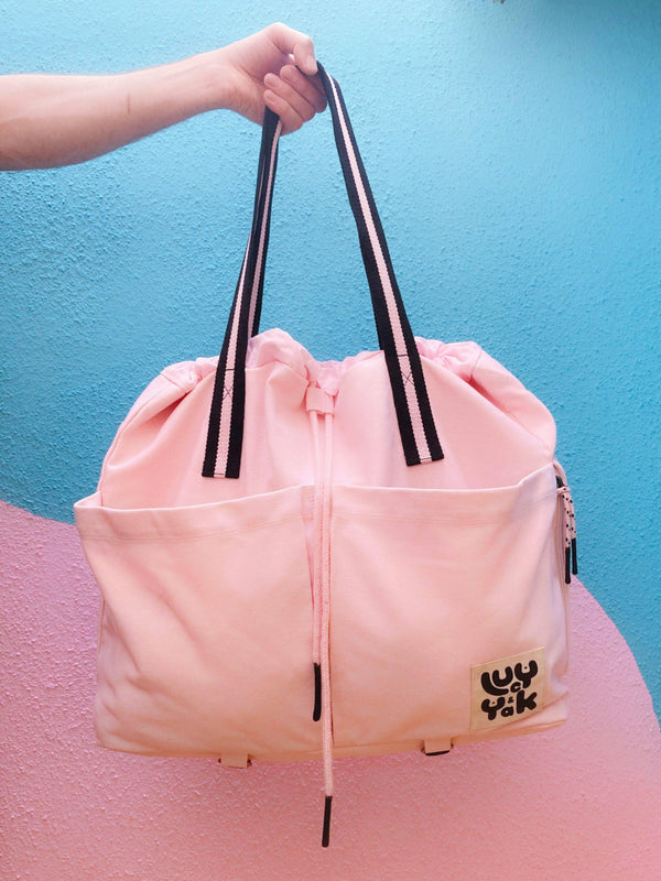 Lucy & Yak Bag 'Dakota' Yoga Bag in Pink