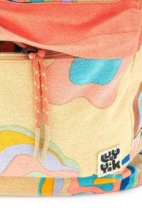 Lucy & Yak Bag The Sundaze Collection - Finley Backpack in Skyline Print