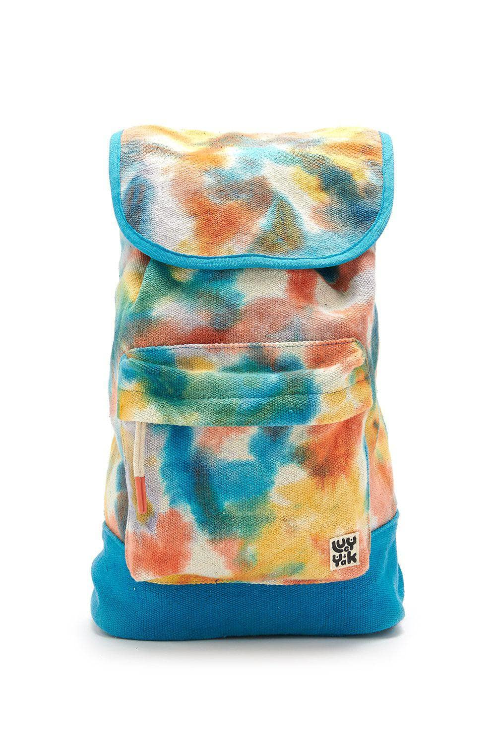Lucy & Yak Bag The Sundaze Collection - 'Finley' Backpack in Multicoloured Tie Dye