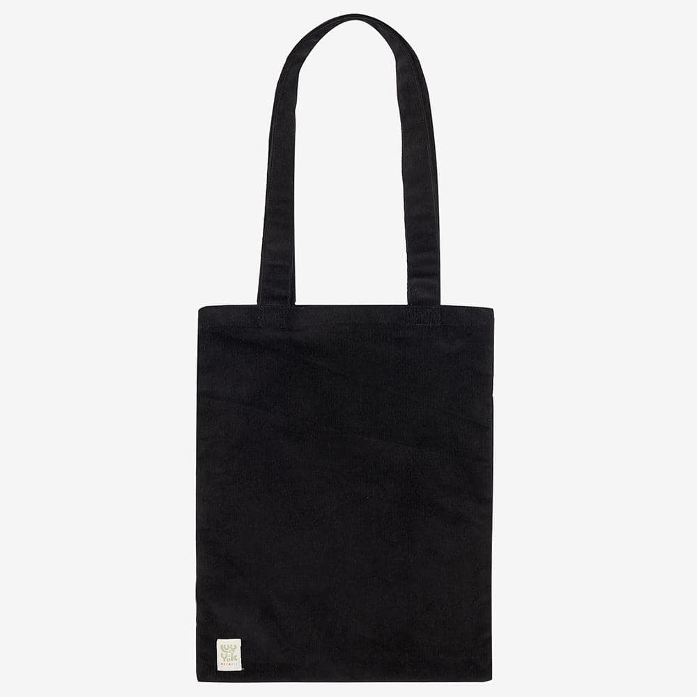 ♻️'Idly' Recycled Corduroy Tote Bag in Black ♻️