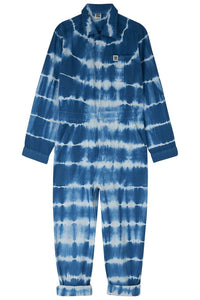 Lucy & Yak Boilersuit Carmen Boilersuit in Midnight Blue Tie-Dye