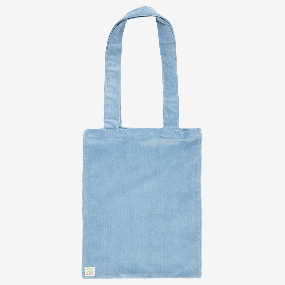 ♻️'Idly' Recycled Corduroy Tote Bag in Ice Blue ♻️
