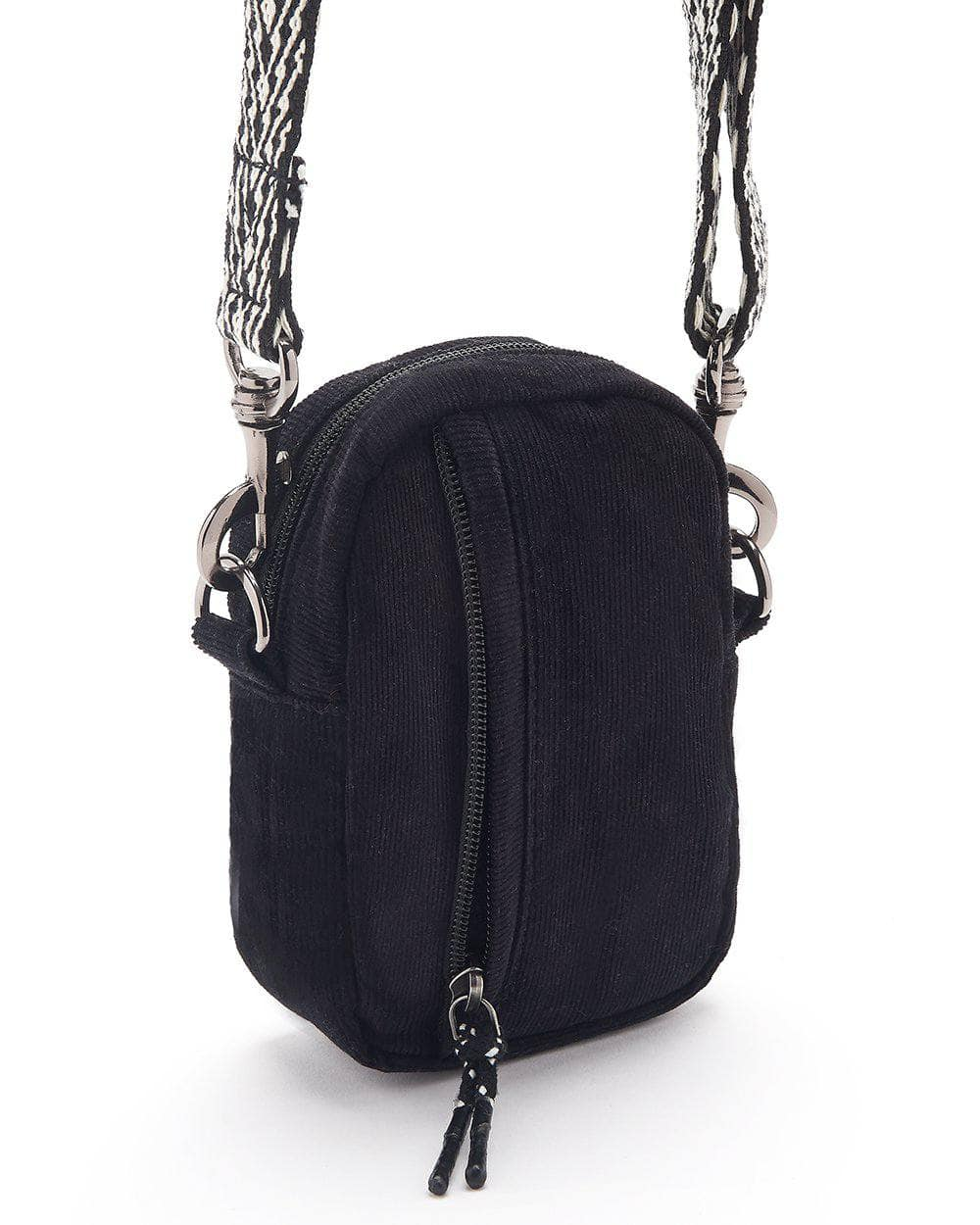Lucy & Yak Bag Brady Mini Cross Body Bag In Black