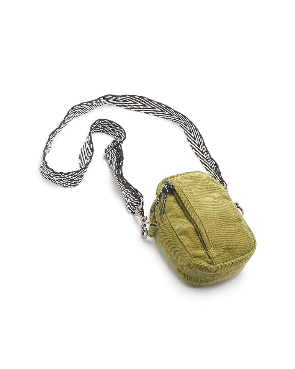Lucy & Yak Bag Brady Mini Cross Body Bag in Olive
