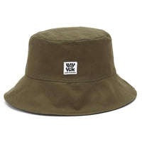 Lucy & Yak Hat Made in Britain 'Travis' Bucket Hat in Black & Olive