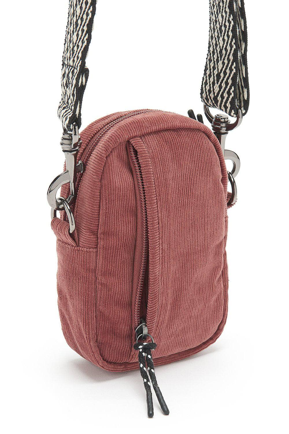 Lucy & Yak Bag 'Brady' Mini Cross Body Bag in Ash Pink