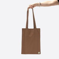 Lucy & Yak Bag Cotton Shopper Tote Bag in Cappucino
