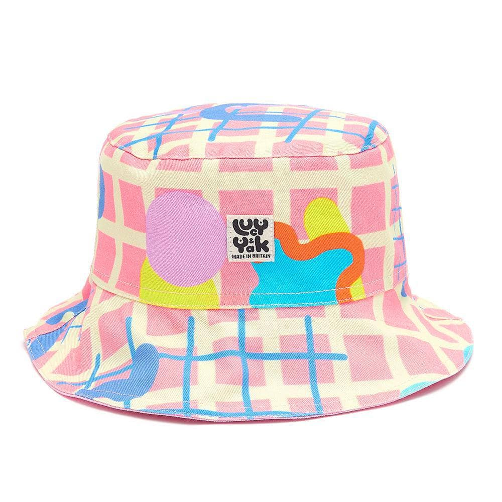 Lucy & Yak Hat Made in Britain - Travis Bucket Hat in Limited Edition Zachary Print