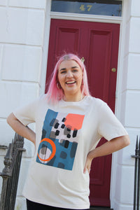 Lucy & Yak Tops Bucky Limited Edition Tee by Elspeth Mills
