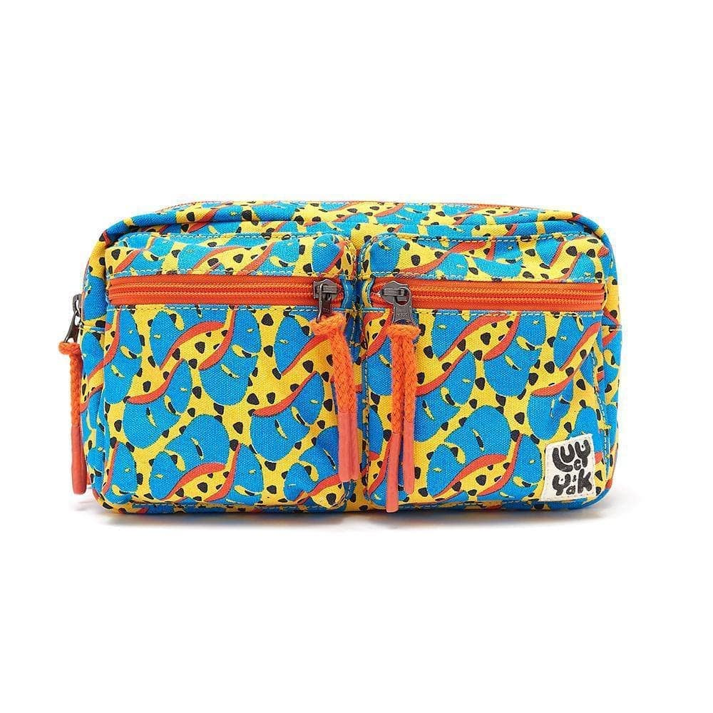 Lucy & Yak Bag Henley Giant Bumbag In Bronx Print