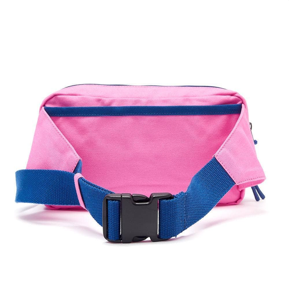 Lucy & Yak Bag Henley Giant Bumbag In Pink & Blue