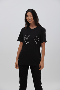 Lucy & Yak Tops 'Celeste' Limited Edition Teeshirt By Hattie Clark