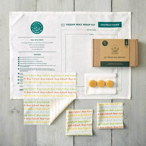 Lucy & Yak accessories Vegan Food Wrap DIY Kit - in 'Keep it Fresh' Print