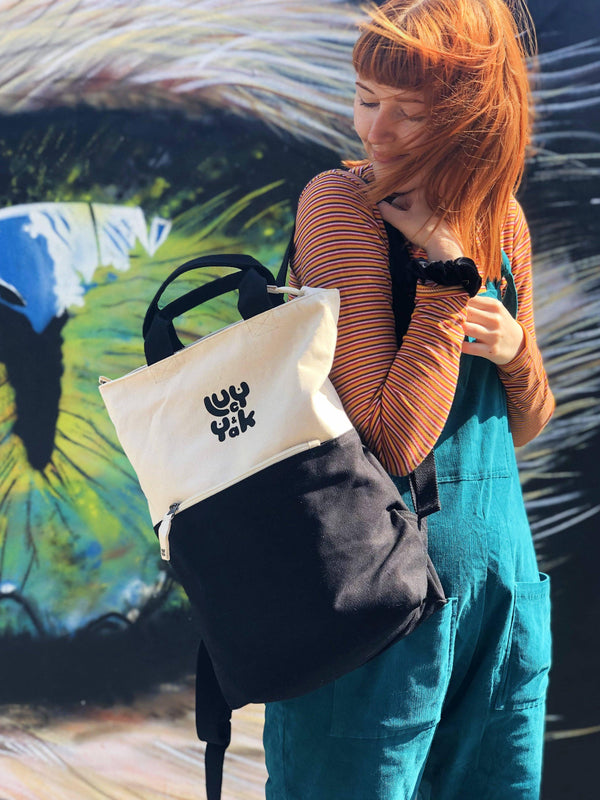 Lucy & Yak Bag 'Dylan' Backpack in Black