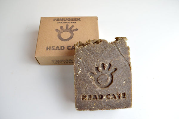 Headcave Fenugeek Shampoo Bar by Primal Suds