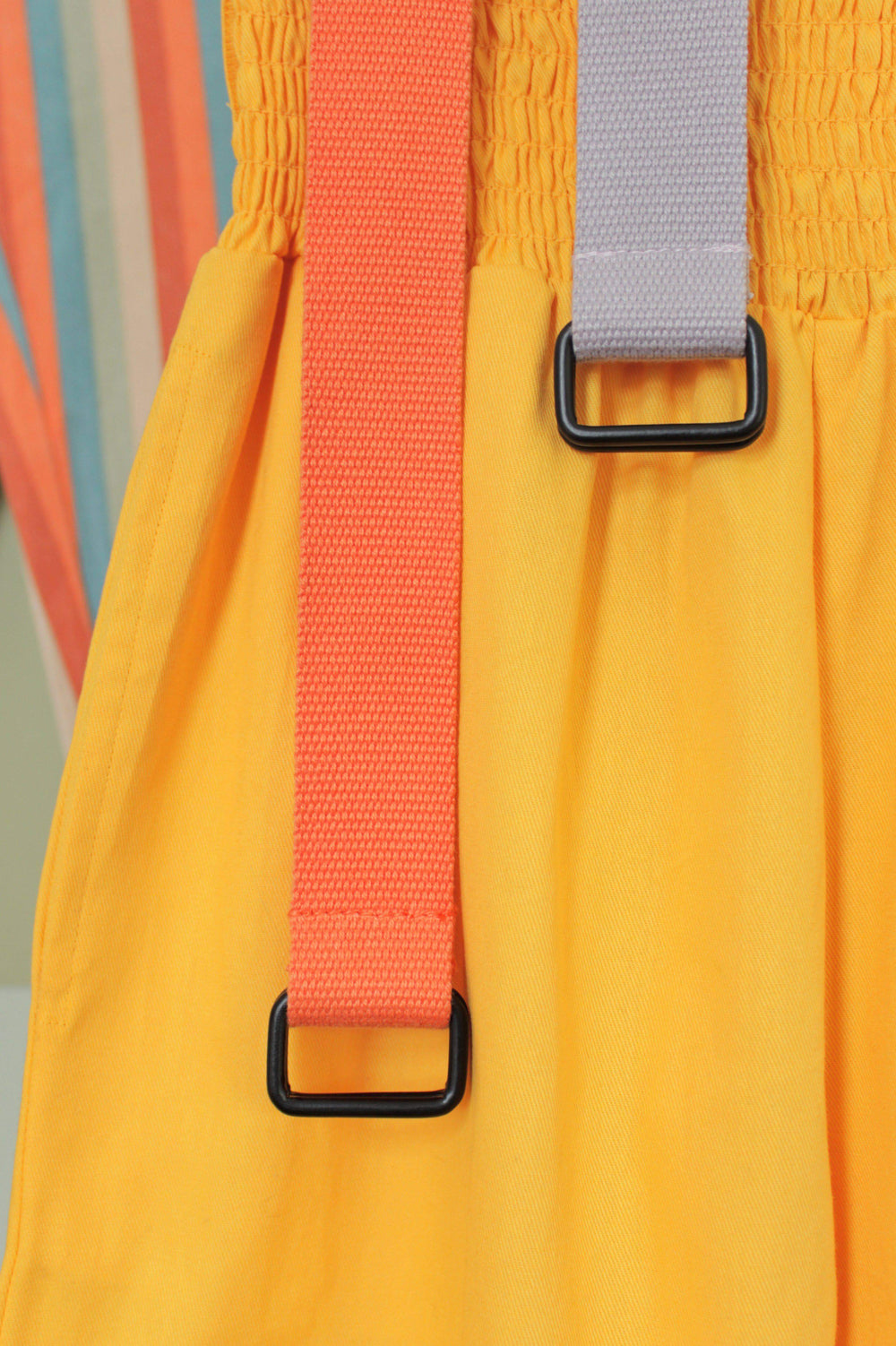 Lucy & Yak Belt California Collection - 'Flynn' Woven Belt in Iris