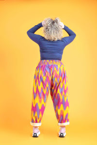 Lucy & Yak trousers Alexa Organic Cotton Trousers in Enzo Print