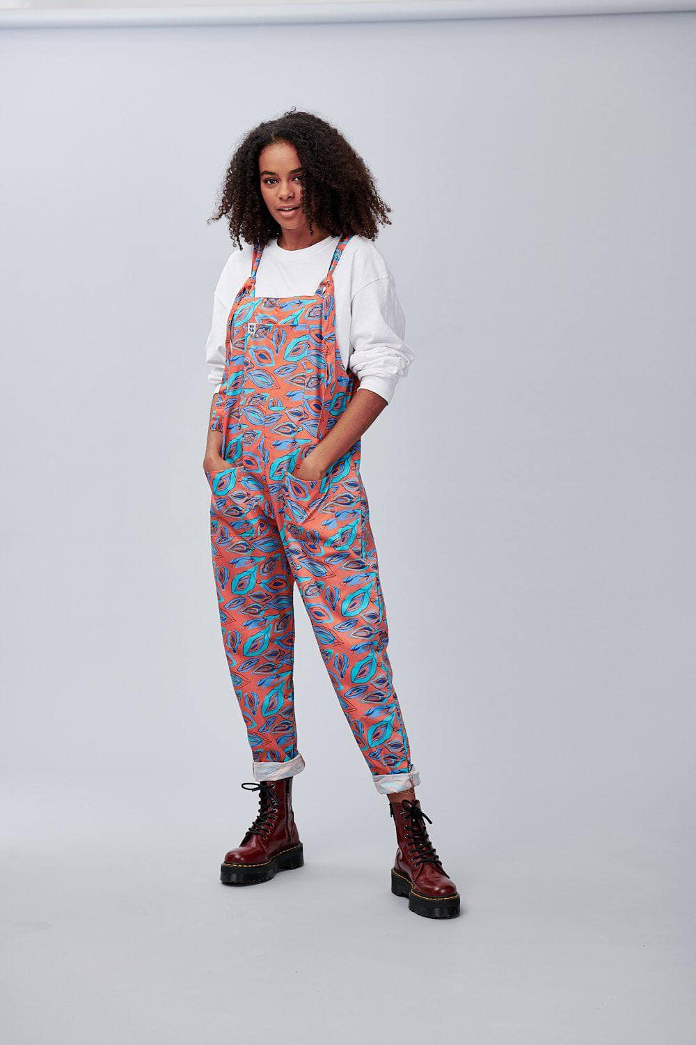 Lucy & Yak Dungarees Vulva Limited Edition Dungarees in Organic Cotton
