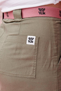 Lucy & Yak trousers 'Jayden' 90s Oversized Cargo Pants in Khaki Green