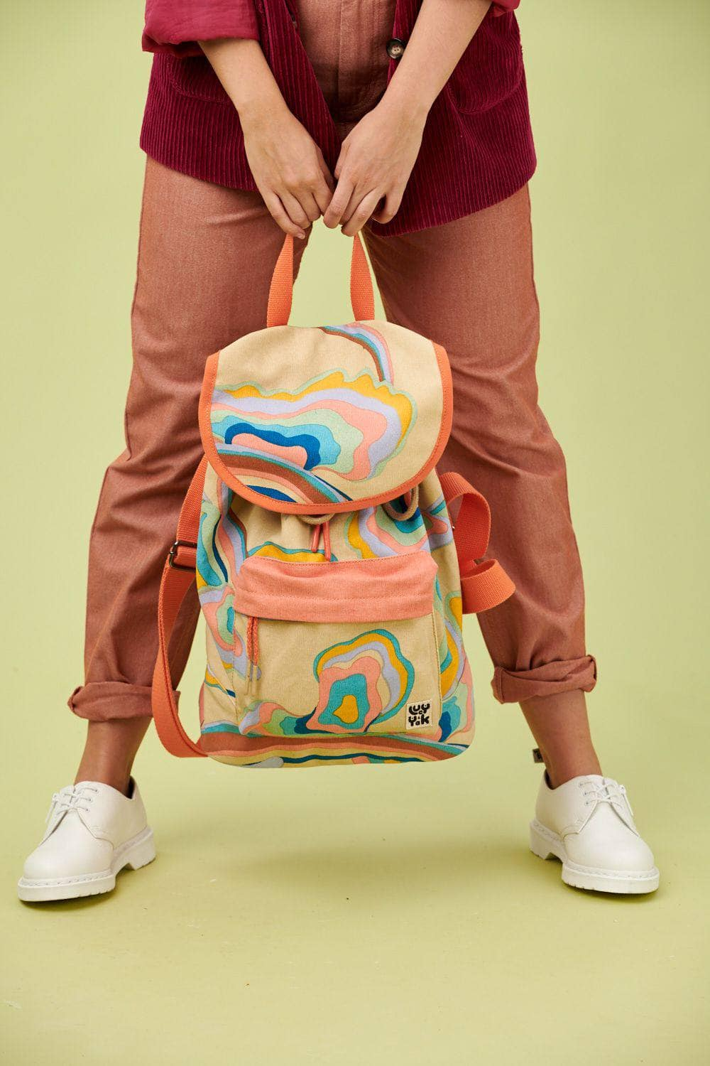 Lucy & Yak Bag Finley Backpack In Skyline Print