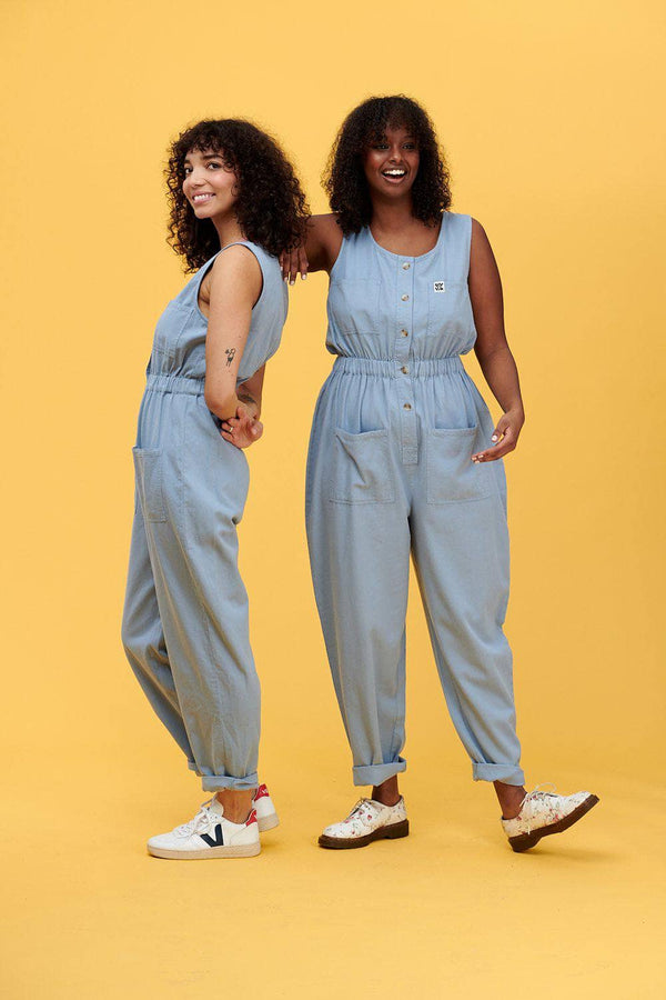 Lucy & Yak Boilersuit 'Juni' Organic Cotton Twill Jumpsuit