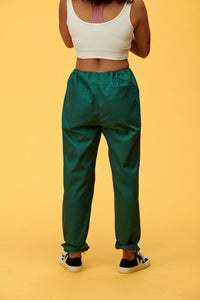 Lucy & Yak trousers Scrubs Trousers in Forest Green