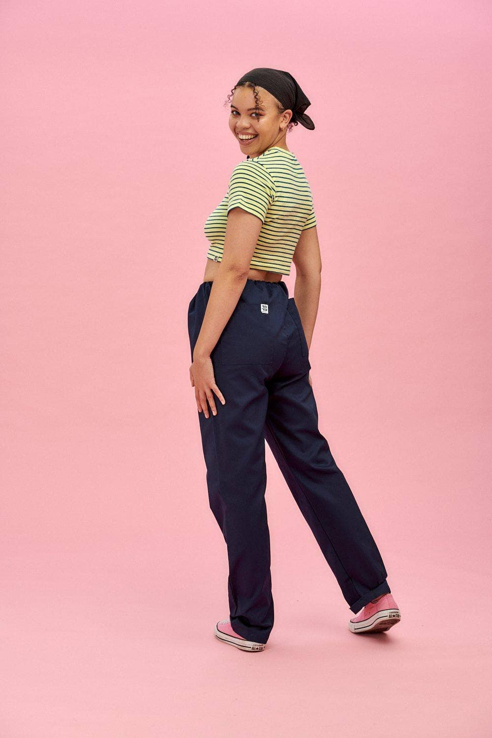 Lucy & Yak trousers Scrubs Trousers In Navy (correct price needs adding)