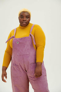 Lucy & Yak Organic Dungarees The Organic Original Corduroy Dungarees in Grape