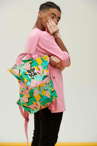 Lucy & Yak Bag Dylan Backpack In Kit Print