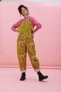 Lucy & Yak Dungarees 'Kafi' Limited Edition Easton Dungarees in Organic Cotton Twill