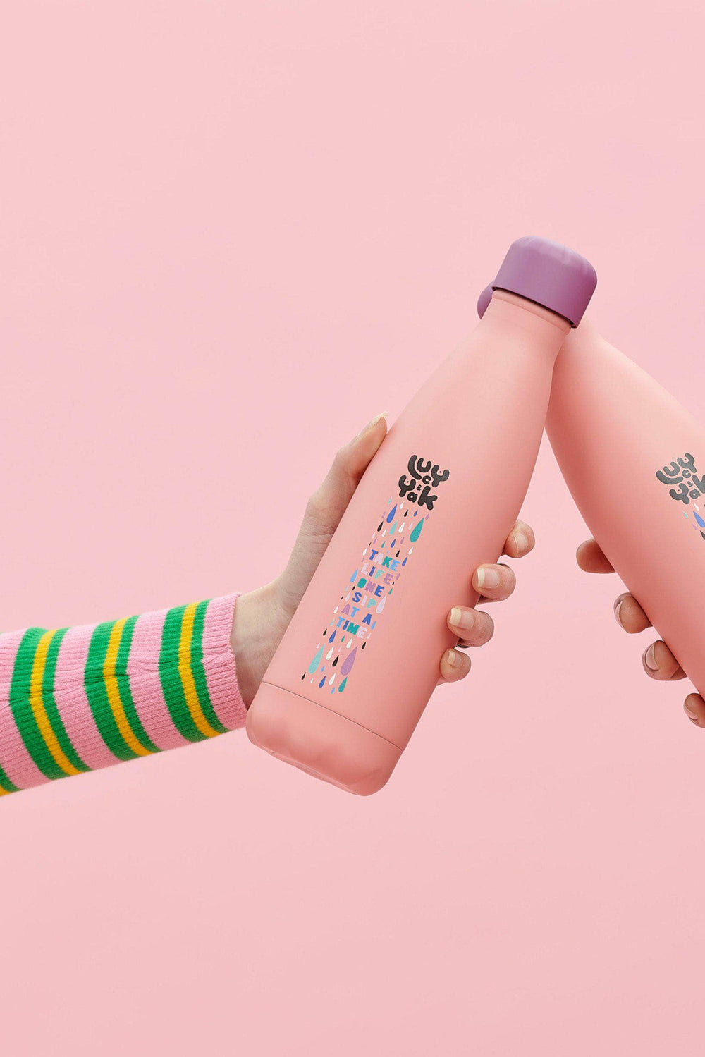 Lucy & Yak accessories S'well x Lucy & Yak 500ml Water Bottle - Take Life One Sip at a Time