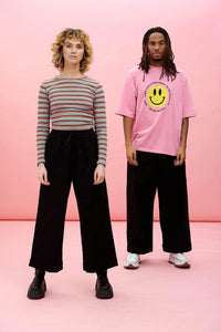 Lucy & Yak trousers Chuck Organic Trousers In Washed Black