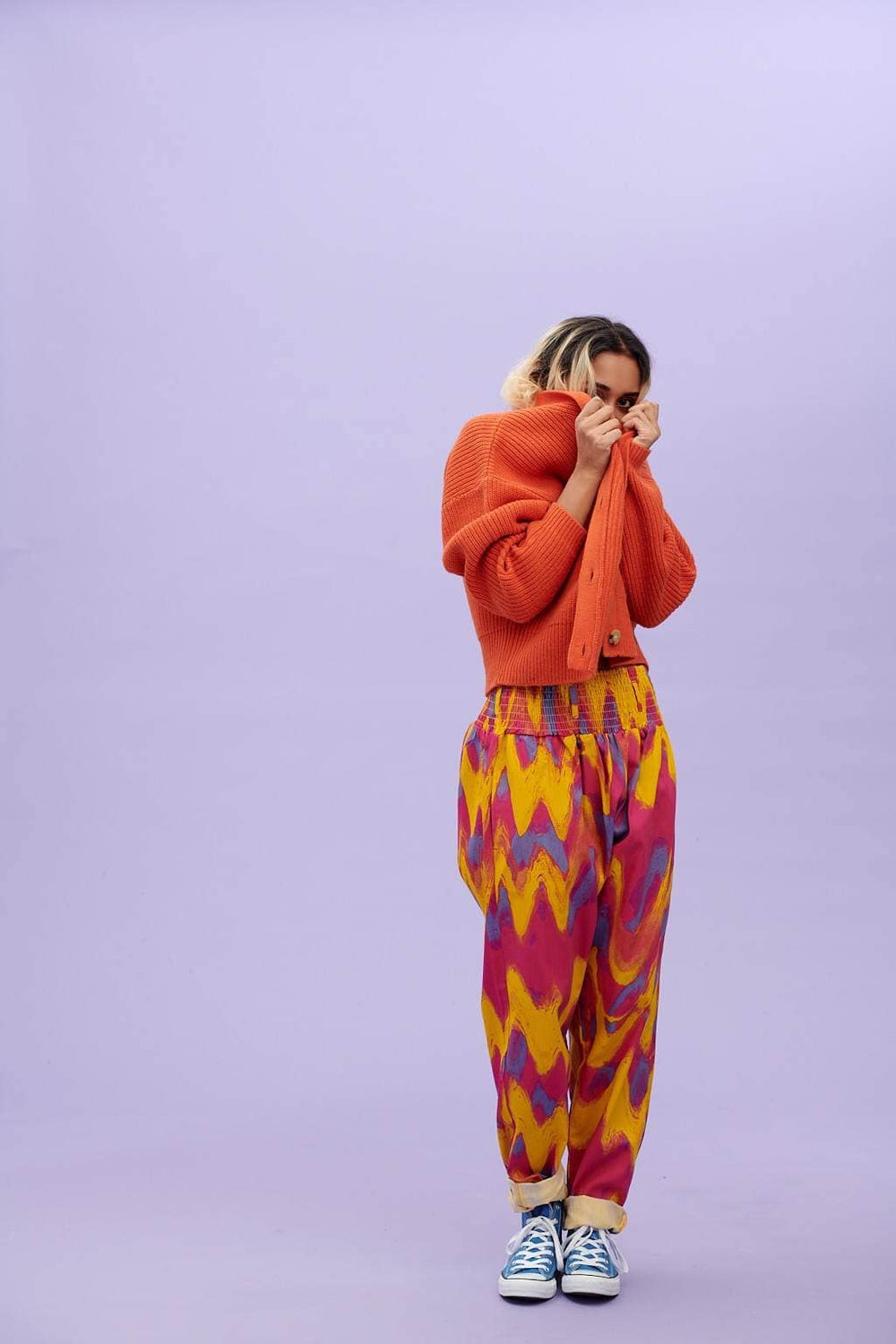 Lucy & Yak trousers Alexa Trousers In Enzo Print